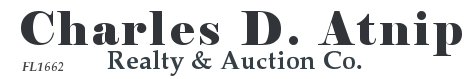 Charles Atnip Realty & Auctions Logo