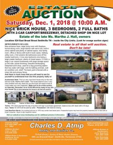 Hall Estate Auction