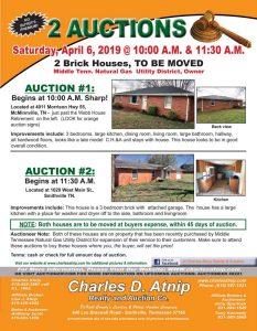 April 6 Auctions
